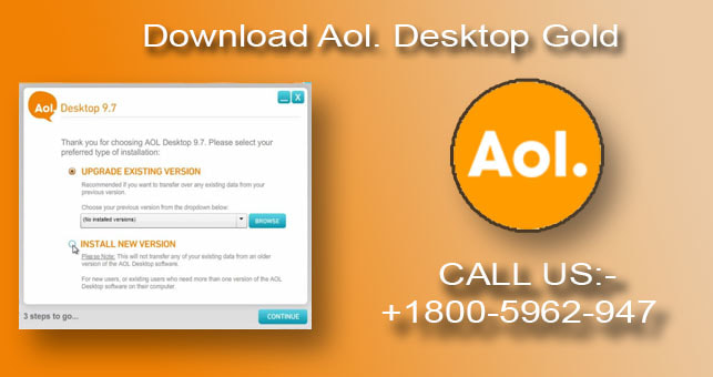 Old version aol download.